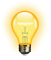 İpucunu simgeleyen yanan sarı lamba