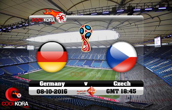 مشاهدة مباراة ألمانيا والتشيك اليوم 8-10-2016 تصفيات كأس العالم