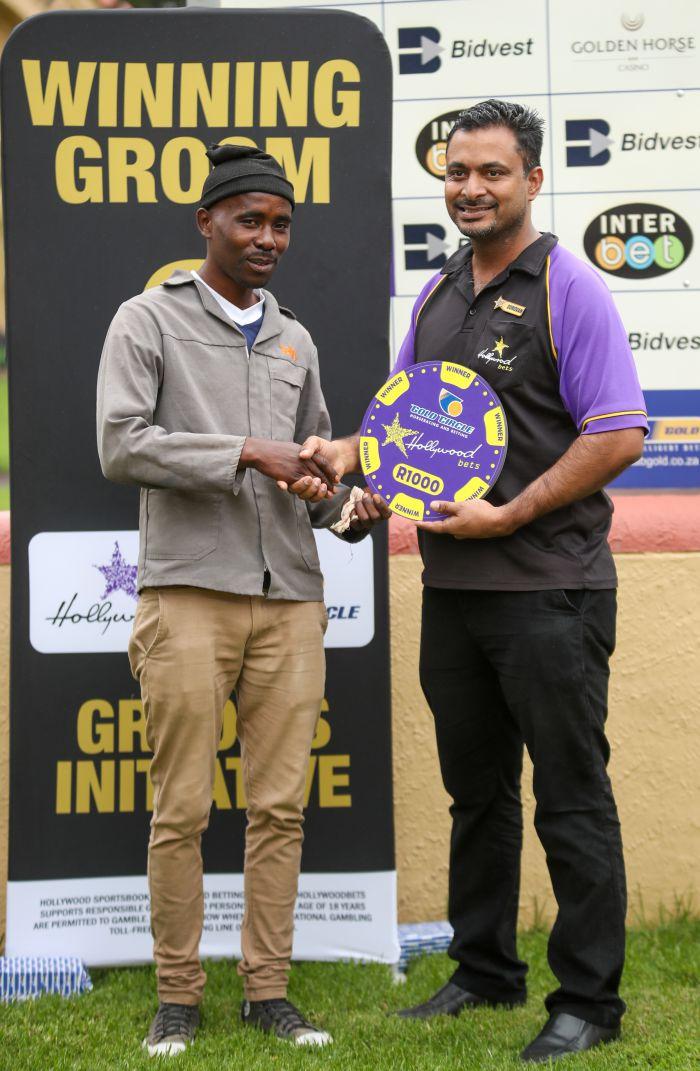 Grooms Initiative Winner - 15th December 2019 - Race 2 - Selby Mtabane - CUT LOOSE