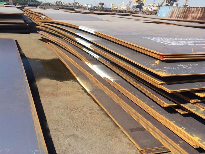 Lô tấm đóng tàu nhập khẩu từ Hyundai Steel đăng kiểm NK-KA