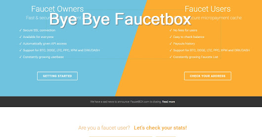 Faucetbox is closing what can you do?
