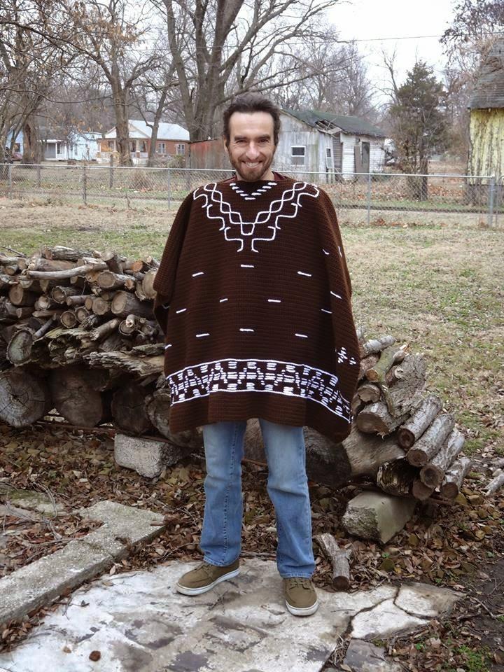 3025d143c My Empty Nest: Crochet Clint Eastwood Poncho