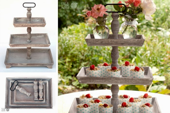 Image result for pick your plum tiered tray