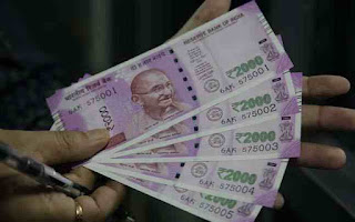 RBI slashes printing of Rs.2,000 note to minimum