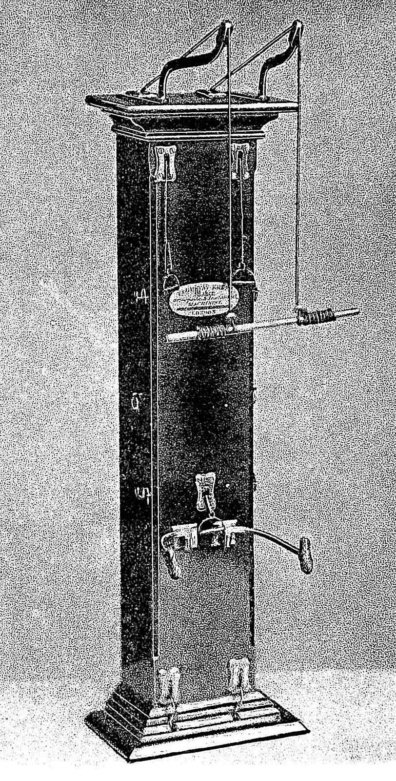 a compact portable 1883 gymnasium photograph, Monty Burns