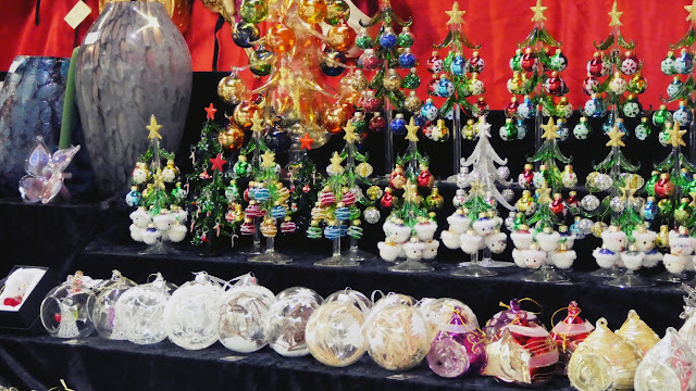 Murano Glas at Christkindlmarkt in Eisenstadt