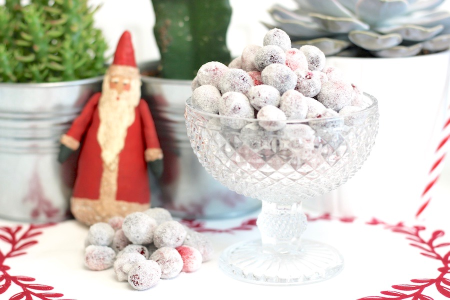 Christmas Frosted Cranberries