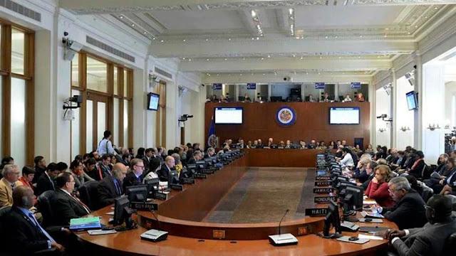 Piden reunión extraordinaria en OEA  para este jueves y abordar caso Venezuela.