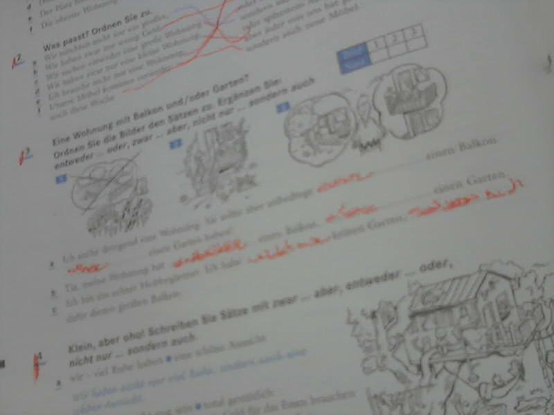 Deutsch V: ARBEITSBLATT 2 1.4 In Ihrer Arbeitsmape