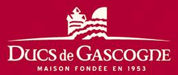 logo Ducs de Gascogne rouge et blanc