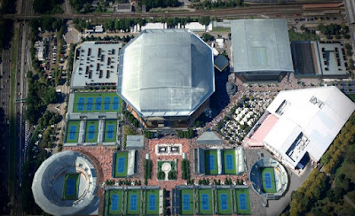 US Open Ashe Roof Closed