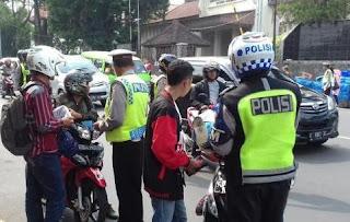 Polrestabes Bandung Gelar Razia Operasi Zebra Lodaya 1-14 November 2017