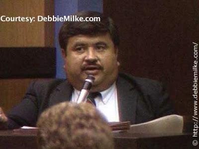Former detective Armando Saldate