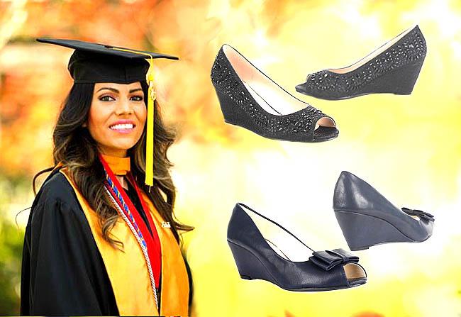 Model sepatu wanita untuk wisuda