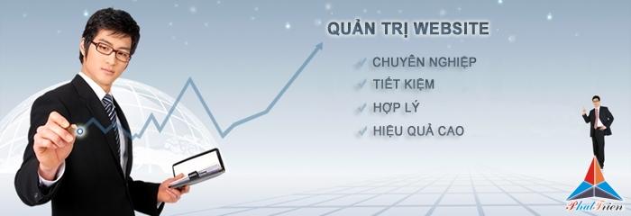 Quản trị website giá rẻ tại Phú Giáo, Bình Dương