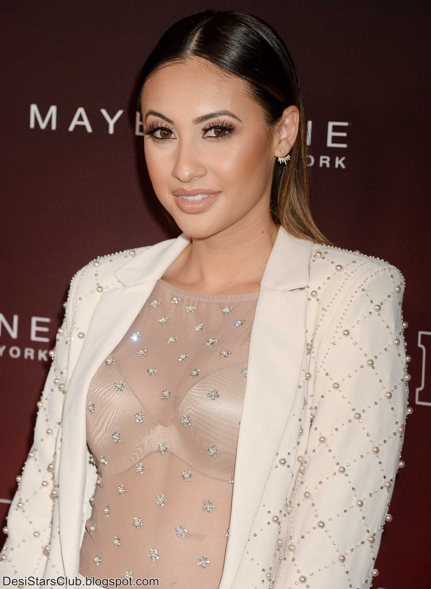 "Francia Raisa Photo Shoot at People's ""Ones to Watch"" in Los Angeles"