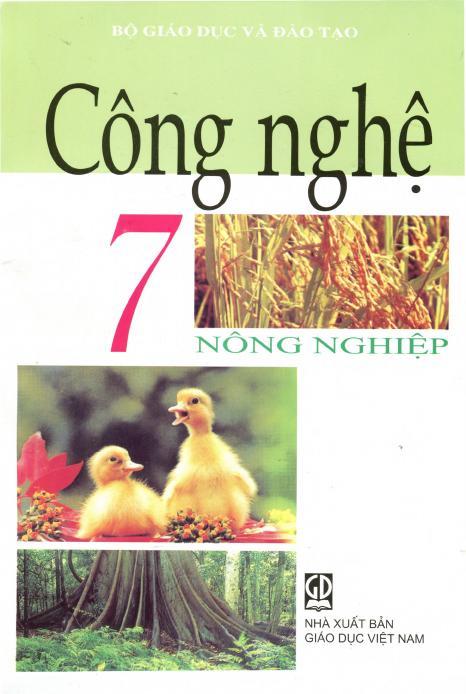 Sách Giáo Khoa Công nghệ 7 Nông nghiệp