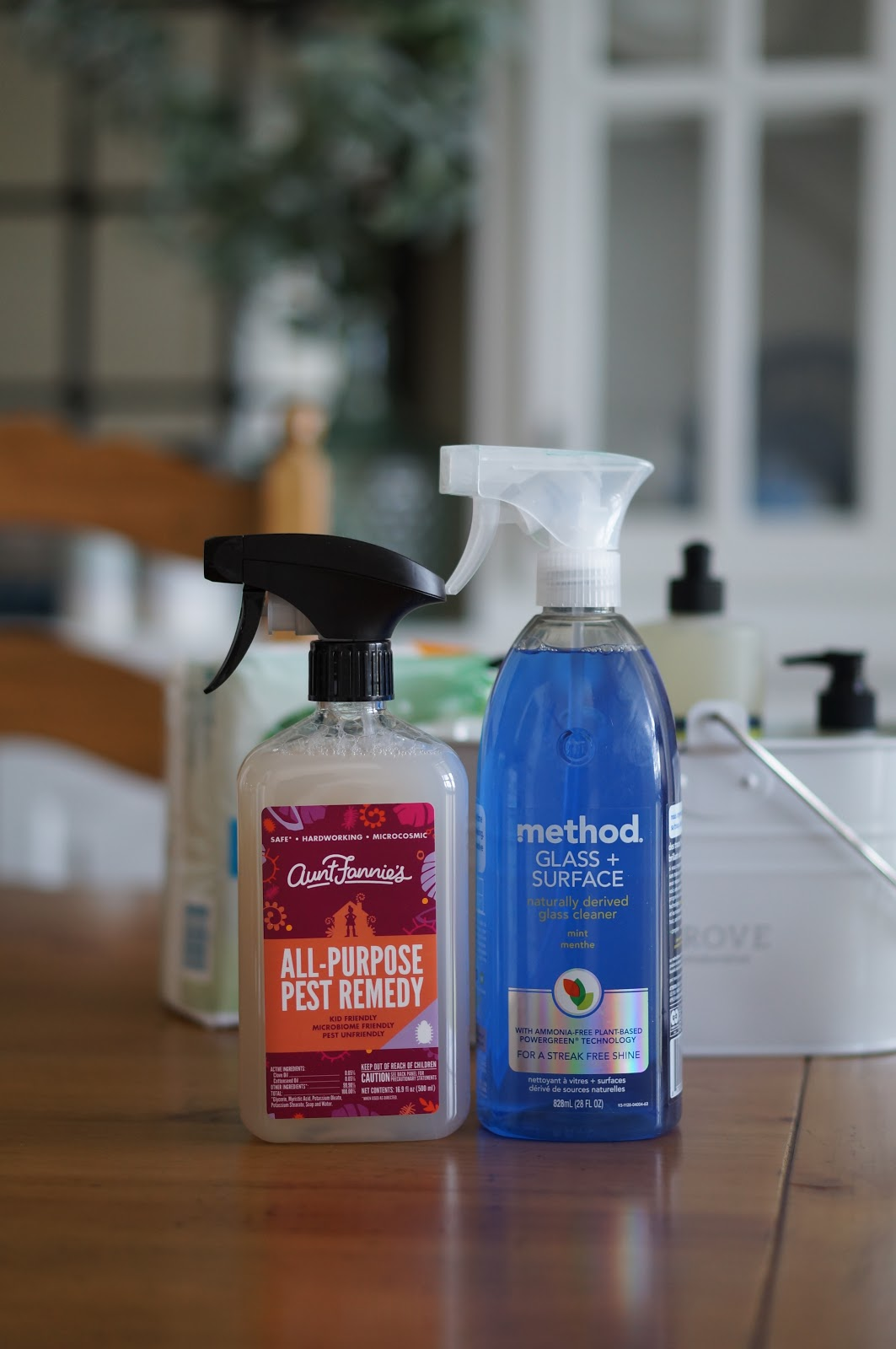 Popular North Carolina style blogger Rebecca Lately shares her July Grove Collaborative order, along with an offer for a free cleaning caddy and products!