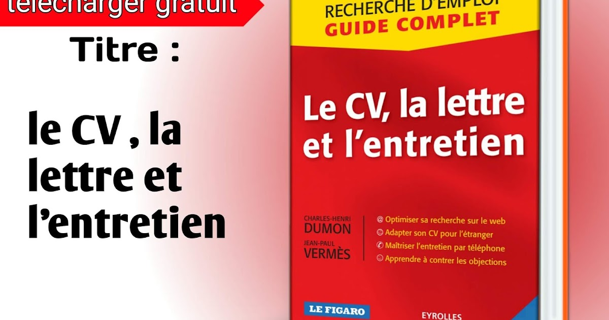 attacher cv lettre