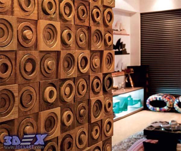 3d Decorative Wall Panels, Modern 3d Wall Panels, 3d Wood Wall Panels