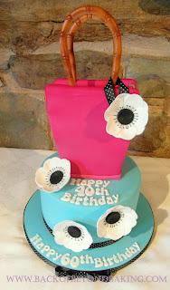 2tier handbag cake