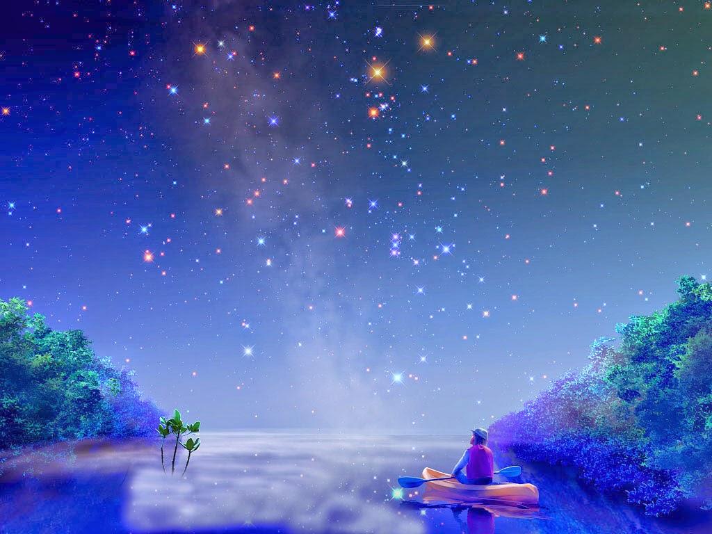 Sky Wallpapers: 3D Beautiful Night Sky HD Wallpapers