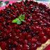 Tarta crema de orujo y frutas del bosque