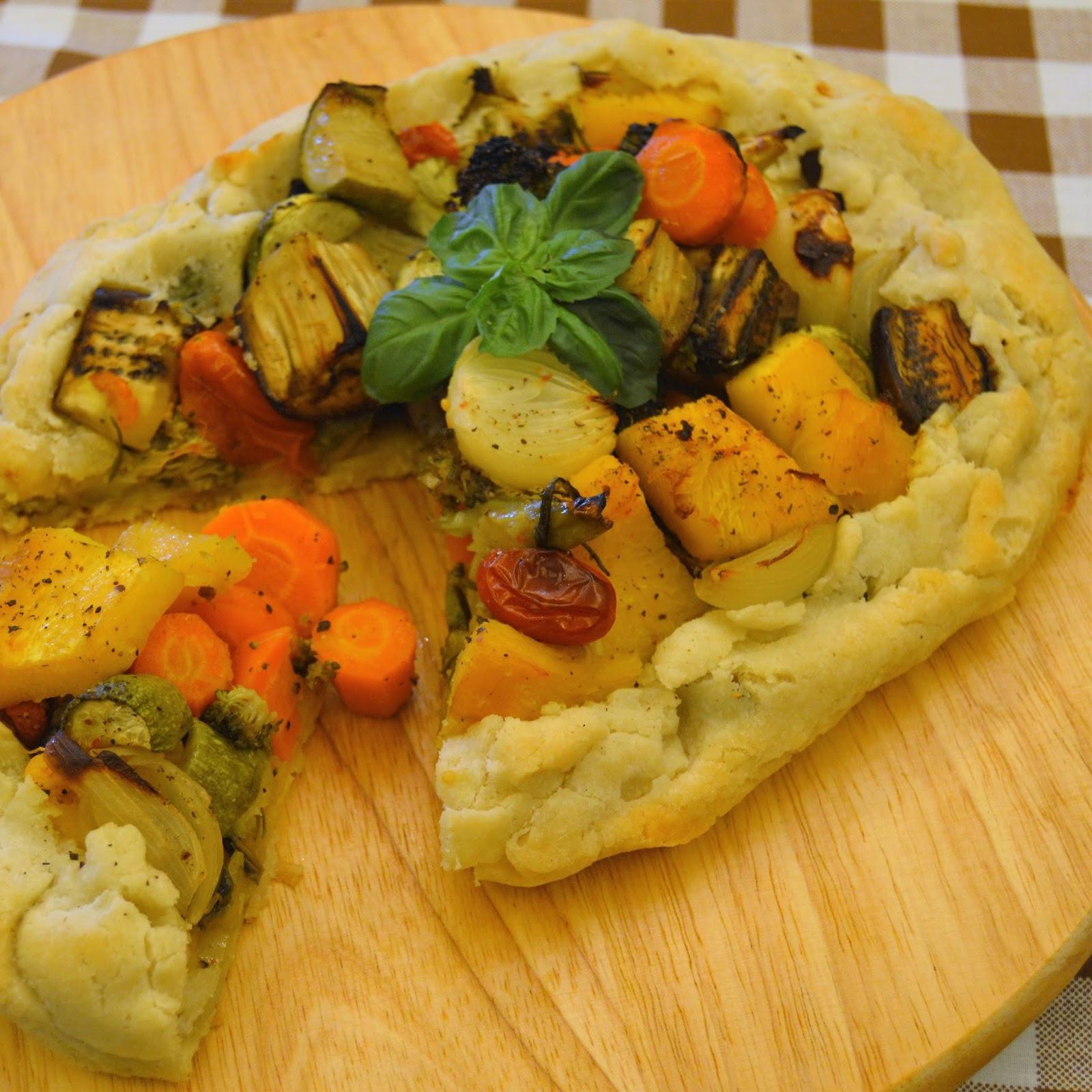 Gluten-Free Vegetable Pie - Bake Free - EN