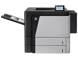 Download HP LaserJet M806 series drivers