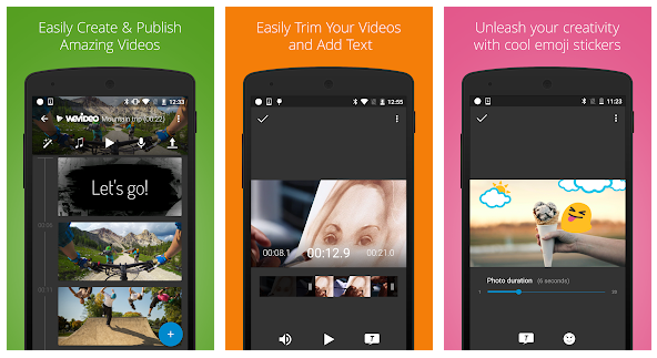 Aplikasi Android Edit Video WeVideo