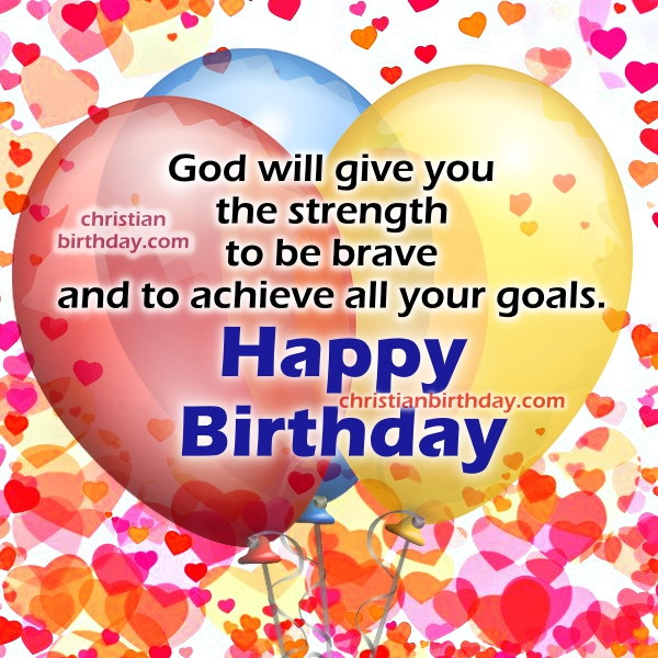 Christian Birthday Wishes with images – Christian Birthday Verses for Cards