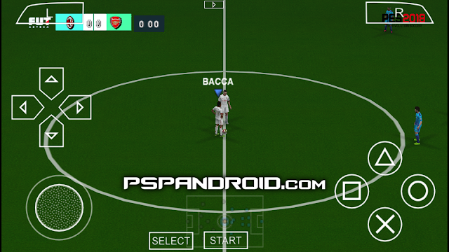 PES 2018 PPSSPP