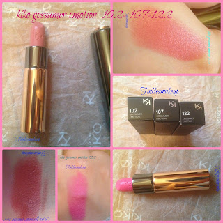 kiko_gossamer_emotion_creamy_lipsticks_swatches_review