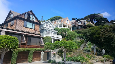 Houses in Sausalito