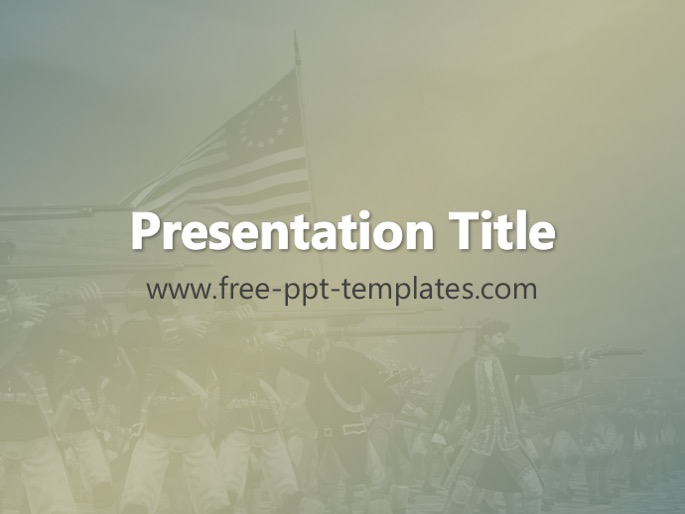 American revolutionary war ppt template toneelgroepblik Images