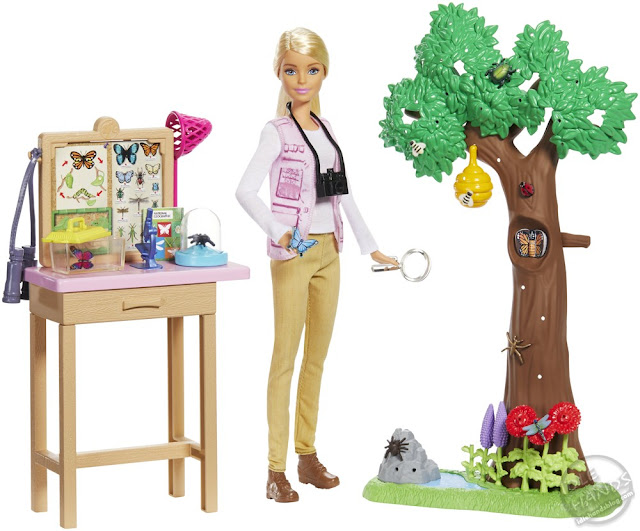 Toy Fair 2019 Mattel Barbie National Geographic Playset 47
