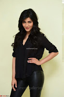Shruti Haasan Looks Stunning trendy cool in Black relaxed Shirt and Tight Leather Pants ~ .com Exclusive Pics 073.jpg