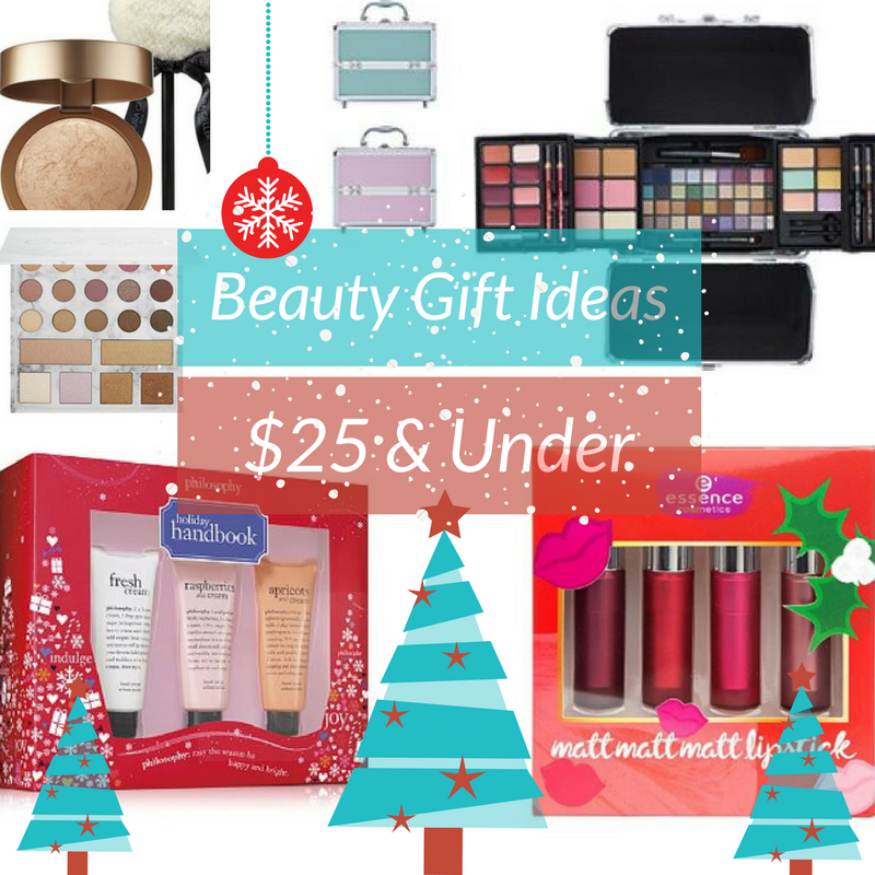 Holiday Beauty Gift Ideas $25 And Under