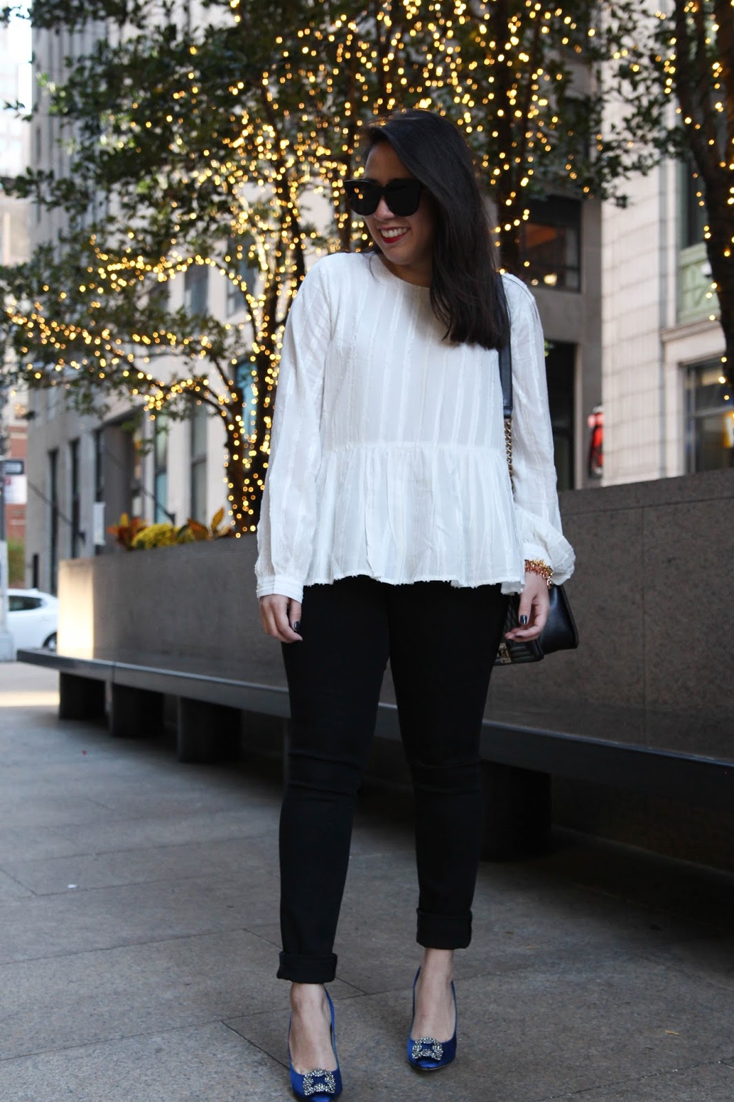 Holiday Happy Hour Look Simple Easy Holiday Outfit Live Laugh Linda Quinones