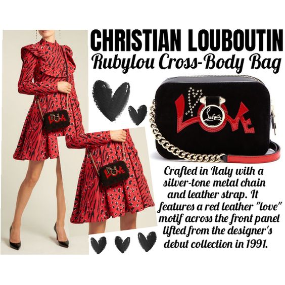 Christian Louboutin Rubylou Cross-Body Bag www.toyastales.blogspot.com #ToyasTales #ChristianLouboutin #Rubylou #love #crossbodybags #handbags #bags #accessories