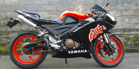 Vixion Fairing Superbike I'fans Modified