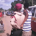 Cyclists Beat Road Safety Officials While Trying To Collect Bribe In Nnewi  ! (pics)