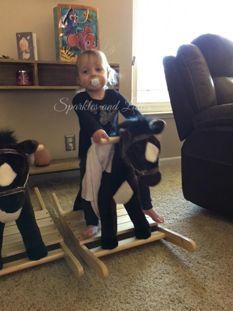 Land of Nod Rocking Horse