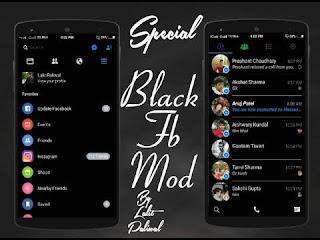 كيفية تفعيل الفيس بوك الاسود بسهولة في للاندرويد 2019 | Facebook Darkmood