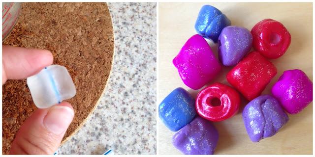 Using Thermomorph to make beads