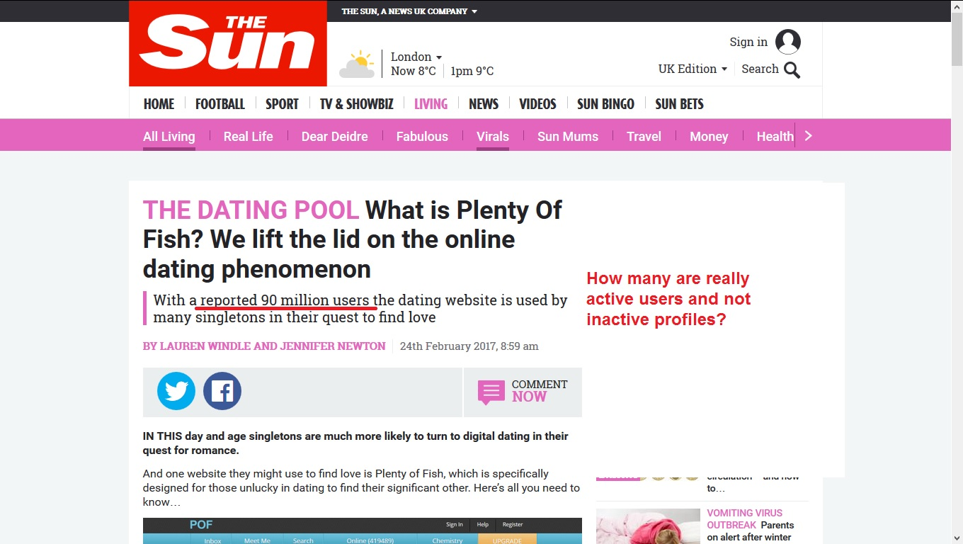 pool fish dating site