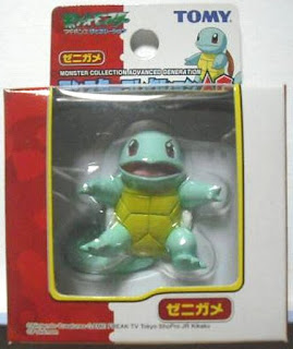 Squirtle  renewal figure Tomy Monster Collection AG series