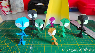 bricolage science fiction - DIY origami en papier