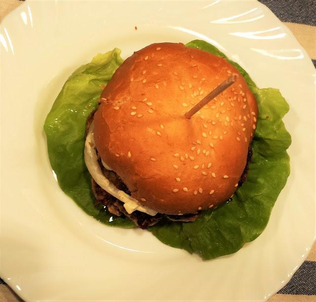 burger jak z mcdonalda