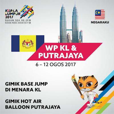 Aktiviti Larian Obor Sukan SEA Kuala Lumpur